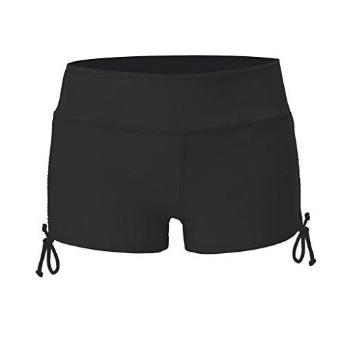 5a4d9af37c4a1 OLIPHEE Damen Badeshorts Schwimmen Bikinihose Wassersport Hose ...